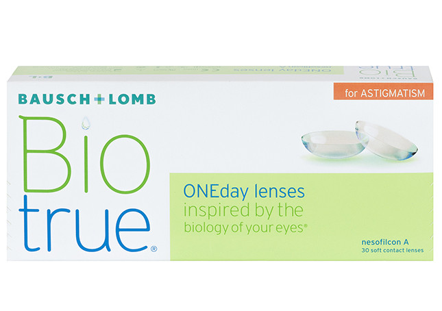 Biotrue One Day for Astigmatism 30