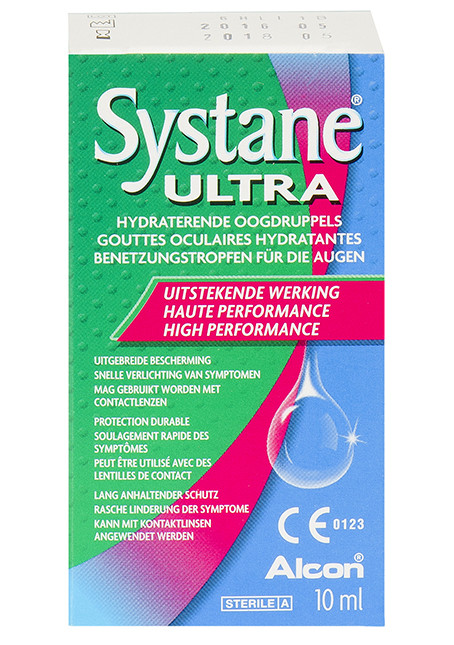 Systane Ultra Hydraterende Oogdruppels 10ml